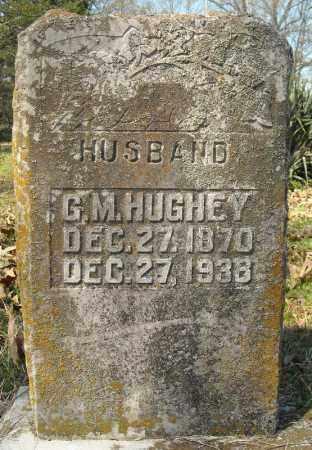 HUGHEY, G.M. - Faulkner County, Arkansas | G.M. HUGHEY - Arkansas Gravestone Photos