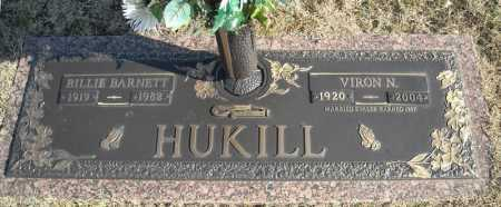 HUKILL, BILLIE - Faulkner County, Arkansas | BILLIE HUKILL - Arkansas Gravestone Photos