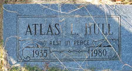 HULL, ATLAS L. - Faulkner County, Arkansas | ATLAS L. HULL - Arkansas Gravestone Photos