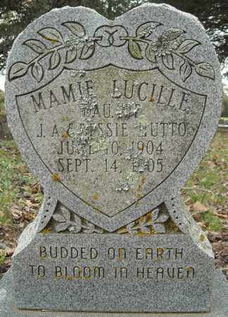 HUTTO, MAMIE LUCILLE - Faulkner County, Arkansas | MAMIE LUCILLE HUTTO - Arkansas Gravestone Photos
