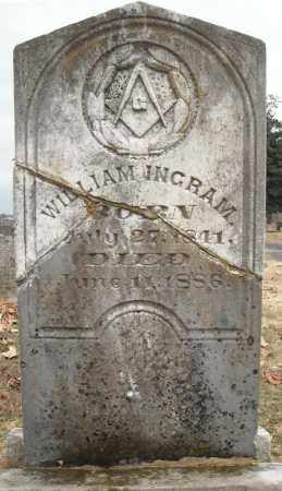 INGRAM, WILLIAM - Faulkner County, Arkansas | WILLIAM INGRAM - Arkansas Gravestone Photos