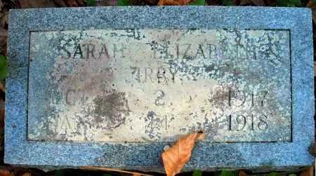 IRBY, SARAH ELIZABETH - Faulkner County, Arkansas | SARAH ELIZABETH IRBY - Arkansas Gravestone Photos