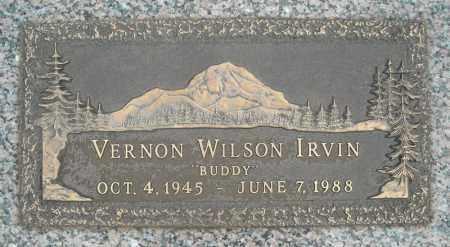IRVIN, VERNON WILSON - Faulkner County, Arkansas | VERNON WILSON IRVIN - Arkansas Gravestone Photos
