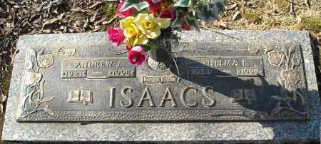ISAACS, ANDREW J. - Faulkner County, Arkansas | ANDREW J. ISAACS - Arkansas Gravestone Photos