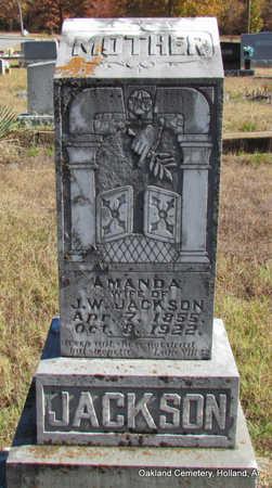 JACKSON, AMANDA - Faulkner County, Arkansas | AMANDA JACKSON - Arkansas Gravestone Photos