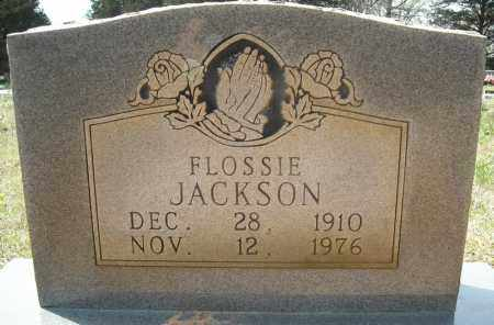 JACKSON, FLOSSIE - Faulkner County, Arkansas | FLOSSIE JACKSON - Arkansas Gravestone Photos