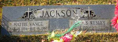 VANCE JACKSON, HATTIE - Faulkner County, Arkansas | HATTIE VANCE JACKSON - Arkansas Gravestone Photos