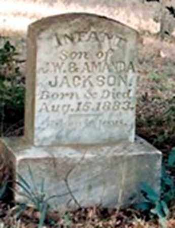 JACKSON, INFANT SON - Faulkner County, Arkansas | INFANT SON JACKSON - Arkansas Gravestone Photos