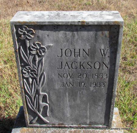 JACKSON, JOHN W. - Faulkner County, Arkansas | JOHN W. JACKSON - Arkansas Gravestone Photos