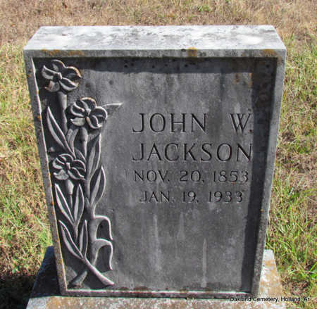 JACKSON, JOHN WESLEY - Faulkner County, Arkansas | JOHN WESLEY JACKSON - Arkansas Gravestone Photos