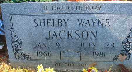 JACKSON, SHELBY WAYNE - Faulkner County, Arkansas | SHELBY WAYNE JACKSON - Arkansas Gravestone Photos