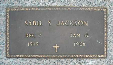 JACKSON, SYBIL S. - Faulkner County, Arkansas | SYBIL S. JACKSON - Arkansas Gravestone Photos