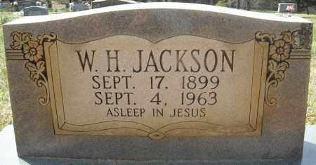 JACKSON, W.H. - Faulkner County, Arkansas   W.H. JACKSON - Arkansas Gravestone Photos