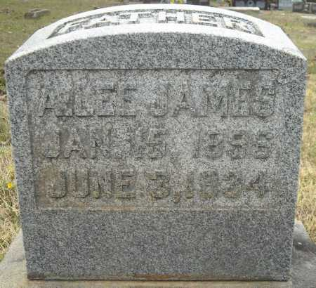 JAMES, ALBERT LEE - Faulkner County, Arkansas | ALBERT LEE JAMES - Arkansas Gravestone Photos