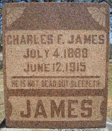 JAMES, CHARLES F. - Faulkner County, Arkansas   CHARLES F. JAMES - Arkansas Gravestone Photos