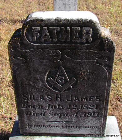 JAMES, SILAS H. - Faulkner County, Arkansas | SILAS H. JAMES - Arkansas Gravestone Photos