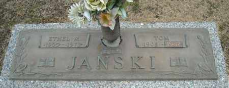 JANSKI, ETHEL M. - Faulkner County, Arkansas | ETHEL M. JANSKI - Arkansas Gravestone Photos