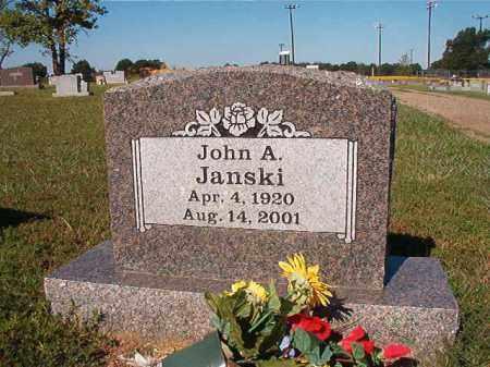 JANSKI, JOHN A. - Faulkner County, Arkansas | JOHN A. JANSKI - Arkansas Gravestone Photos