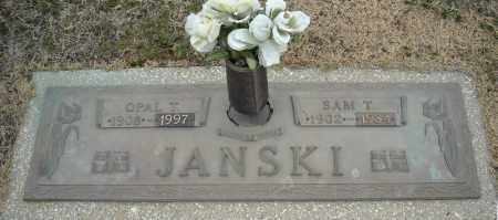 JANSKI, SAM T. - Faulkner County, Arkansas | SAM T. JANSKI - Arkansas Gravestone Photos