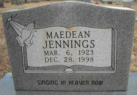JENNINGS, MAEDEAN - Faulkner County, Arkansas | MAEDEAN JENNINGS - Arkansas Gravestone Photos