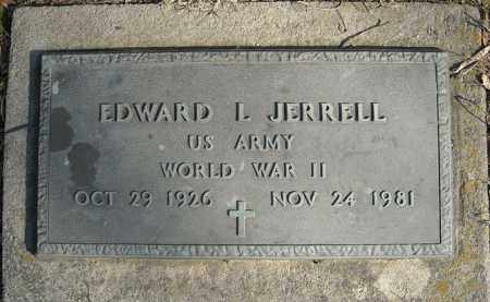 JERRELL (VETERAN WWII), EDWARD L - Faulkner County, Arkansas | EDWARD L JERRELL (VETERAN WWII) - Arkansas Gravestone Photos