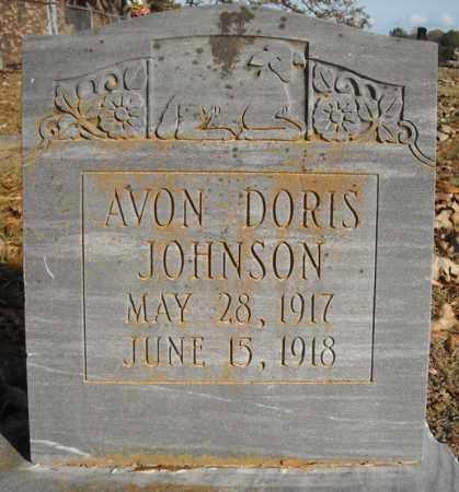 JOHNSON, AVON DORIS - Faulkner County, Arkansas | AVON DORIS JOHNSON - Arkansas Gravestone Photos