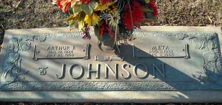 JOHNSON, META - Faulkner County, Arkansas | META JOHNSON - Arkansas Gravestone Photos