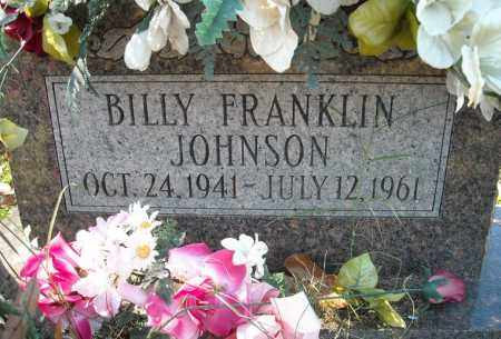 JOHNSON, BILLY FRANKLIN - Faulkner County, Arkansas | BILLY FRANKLIN JOHNSON - Arkansas Gravestone Photos