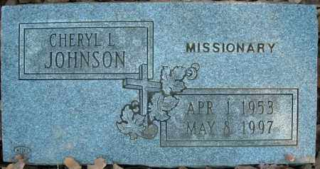 JOHNSON, CHERYL L. - Faulkner County, Arkansas | CHERYL L. JOHNSON - Arkansas Gravestone Photos