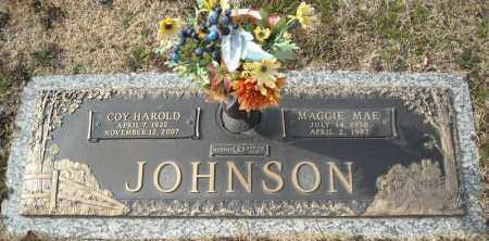 JOHNSON, MAGGIE MAE - Faulkner County, Arkansas | MAGGIE MAE JOHNSON - Arkansas Gravestone Photos