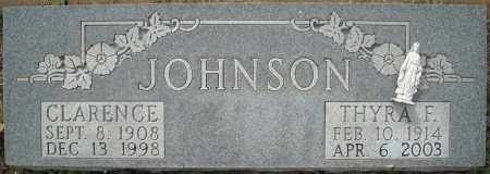 JOHNSON, CLARENCE - Faulkner County, Arkansas | CLARENCE JOHNSON - Arkansas Gravestone Photos