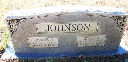 JOHNSON, STELLA G. - Faulkner County, Arkansas | STELLA G. JOHNSON - Arkansas Gravestone Photos