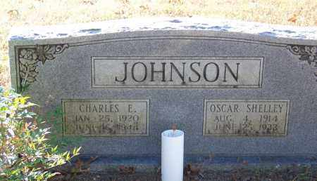 JOHNSON, OSCAR SHELLEY - Faulkner County, Arkansas | OSCAR SHELLEY JOHNSON - Arkansas Gravestone Photos