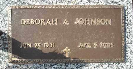 JOHNSON, DEBORAH A. - Faulkner County, Arkansas | DEBORAH A. JOHNSON - Arkansas Gravestone Photos