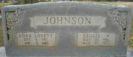 JOHNSON, REGGIE W. - Faulkner County, Arkansas | REGGIE W. JOHNSON - Arkansas Gravestone Photos