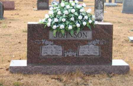 JOHNSON, ERMON MUTT - Faulkner County, Arkansas | ERMON MUTT JOHNSON - Arkansas Gravestone Photos