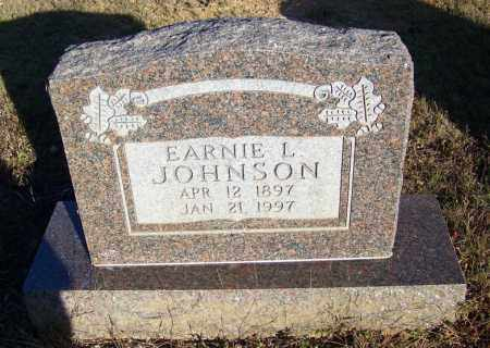 JOHNSON, EARNIE L. - Faulkner County, Arkansas | EARNIE L. JOHNSON - Arkansas Gravestone Photos