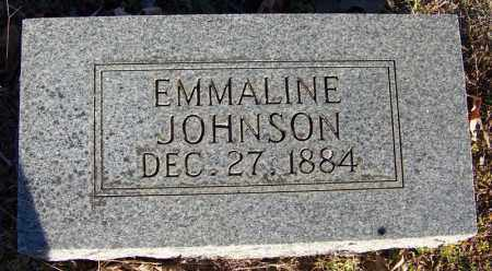 JOHNSON, EMMALINE - Faulkner County, Arkansas | EMMALINE JOHNSON - Arkansas Gravestone Photos