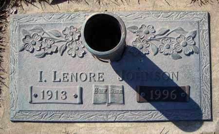 JOHNSON, I. LENORE - Faulkner County, Arkansas   I. LENORE JOHNSON - Arkansas Gravestone Photos