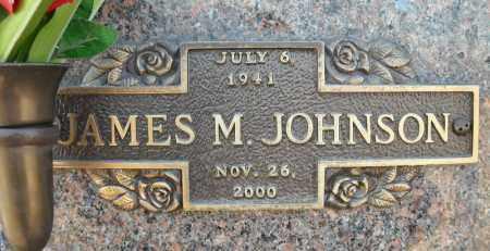 JOHNSON, JAMES M. - Faulkner County, Arkansas | JAMES M. JOHNSON - Arkansas Gravestone Photos