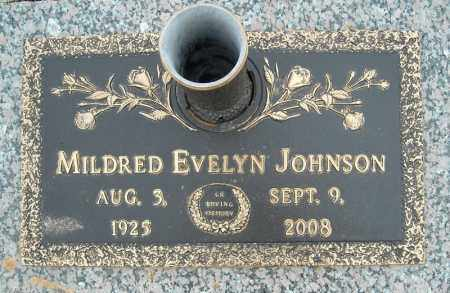 JOHNSON, MILDRED EVELYN - Faulkner County, Arkansas | MILDRED EVELYN JOHNSON - Arkansas Gravestone Photos