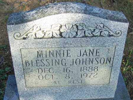 JOHNSON, MINNIE JANE - Faulkner County, Arkansas | MINNIE JANE JOHNSON - Arkansas Gravestone Photos