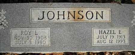 JOHNSON, ROY L. - Faulkner County, Arkansas | ROY L. JOHNSON - Arkansas Gravestone Photos