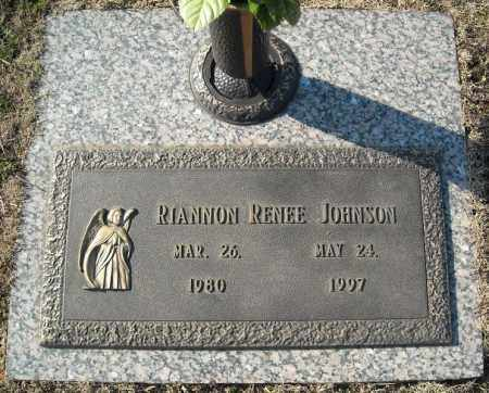 JOHNSON, RIANNON RENEE - Faulkner County, Arkansas | RIANNON RENEE JOHNSON - Arkansas Gravestone Photos