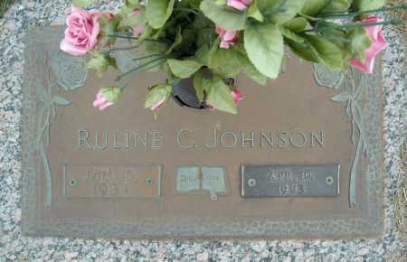 JOHNSON, RULINE C. - Faulkner County, Arkansas | RULINE C. JOHNSON - Arkansas Gravestone Photos