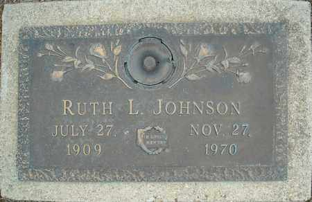 JOHNSON, RUTH L. - Faulkner County, Arkansas | RUTH L. JOHNSON - Arkansas Gravestone Photos