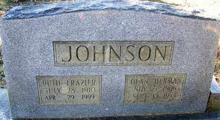FRAZIER JOHNSON, RUTH - Faulkner County, Arkansas | RUTH FRAZIER JOHNSON - Arkansas Gravestone Photos