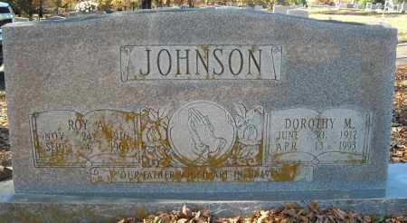 JOHNSON, DOROTHY M. - Faulkner County, Arkansas | DOROTHY M. JOHNSON - Arkansas Gravestone Photos