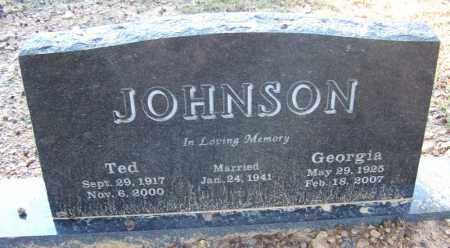 JOHNSON, GEORGIA - Faulkner County, Arkansas | GEORGIA JOHNSON - Arkansas Gravestone Photos