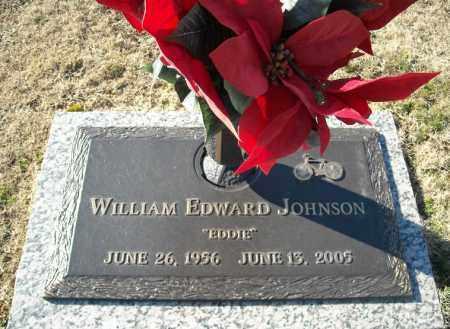 JOHNSON, WILLIAM EDWARD - Faulkner County, Arkansas | WILLIAM EDWARD JOHNSON - Arkansas Gravestone Photos